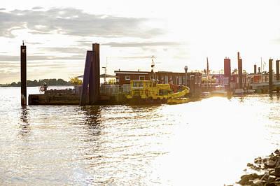 Photograph - Old-light-film Effect On The River Berth by Marina Usmanskaya