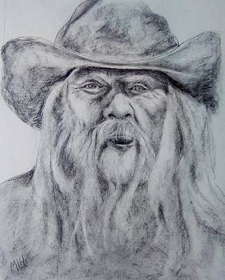 Painting - Old Man In A Hat  by Marcia Hochstetter
