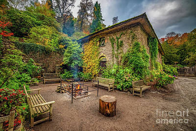 Photograph - Old Mill Autumn by Adrian Evans