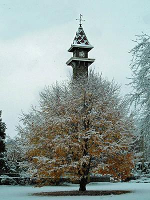 Photograph - Old Mill Tower by Cyryn Fyrcyd