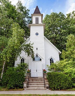 Photograph - Old Mission Congregational Church by Fran Riley