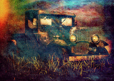 Landmarks Royalty Free Images - Old Pickup Royalty-Free Image by Bob Orsillo