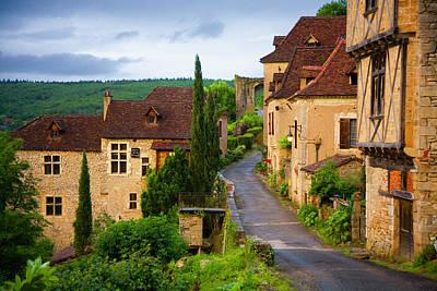 Photograph - Old Pilgrims Road Leading Through The by Barbara Van Zanten