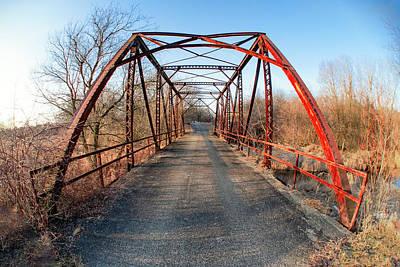 Photograph - Old Pratt Road Bridge by Todd Klassy