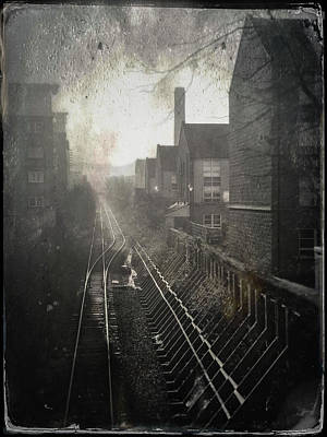 Victorian Era Wall Art - Photograph - Old Railway Line by Dave Bowman