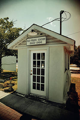 Photograph - Old Ridgeway Police Station 21 Vintage 1 by Joseph C Hinson Photography