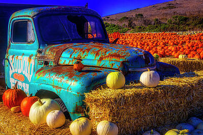 Photograph - Old Rodoni Farm Truck by Garry Gay