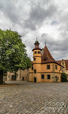 Firefighter Patents Royalty Free Images - Old Rothenburg ob Tauber Royalty-Free Image by Norma Brandsberg