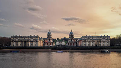 Photograph - Old Royal Naval College by James Billings