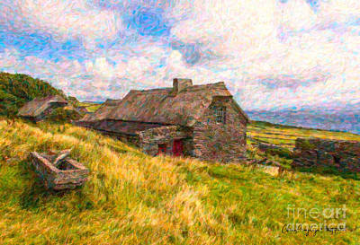 Digital Art - Old Scottish Farmhouse by Chris Armytage