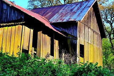 Jerry Sodorff Royalty-Free and Rights-Managed Images - Old Shed Barn by Jerry Sodorff