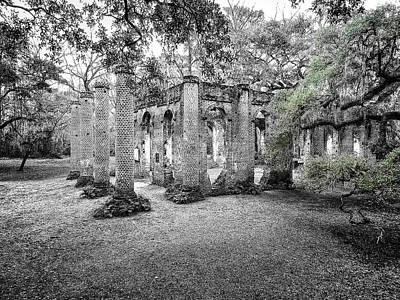 Photograph - Old Sheldon Ruins by Scott Hansen