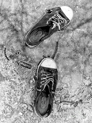 Photograph - Old Sneaks by Walter Neal