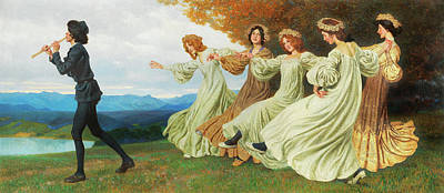 Lenz Wall Art - Painting - Old Song by Maximilian Lenz