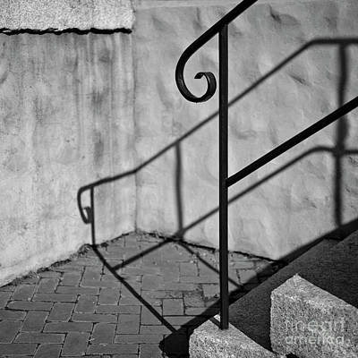 Art Print featuring the photograph Old Steps by Patrick M Lynch