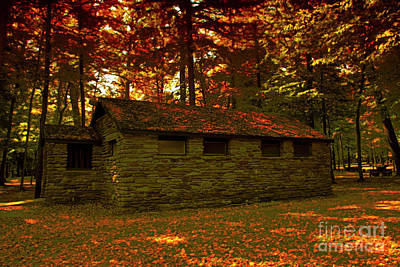 Photograph - Old Stone Structure by Jim Lepard