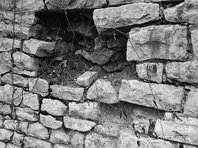Photograph - Old Stone Wall by Phil Perkins