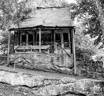 Photograph - Old Store by Wesley Nesbitt