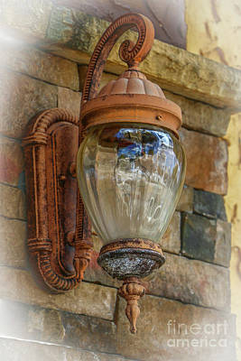 Photograph - Old Street Lamp by Tom Claud