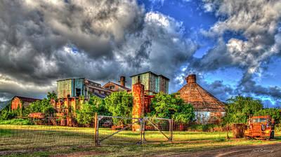 Photograph - Old Time Sugar Vintage Koloa Sugar Mill Kauai Hawaii Art by Reid Callaway
