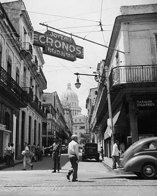 Photograph - Old Town Havana by Fpg