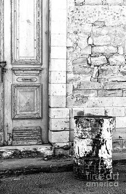 Photograph - Old Town Limassol Monochrome by John Rizzuto