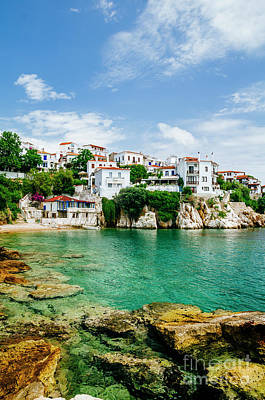 Photograph - Old Town View Of Skiathos Island, Sporades, Greece.  by Jelena Jovanovic
