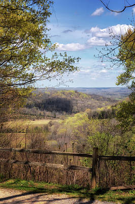 Photograph - Old Trace Drive View by Susan Rissi Tregoning