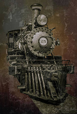 Photograph - Old Train by Steph Gabler