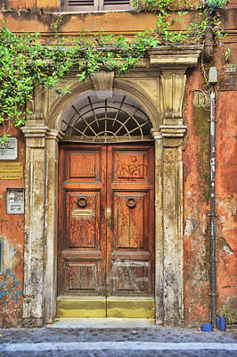 Claude Monet - Old Trastevere by JAMART Photography