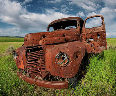 Photograph - Old Truck by Leland D Howard