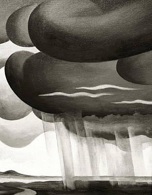 Photograph - Old Western Rain by Marilyn Hunt