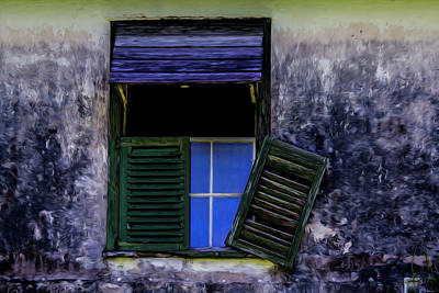 Photograph - Old Window 2 by Stuart Manning