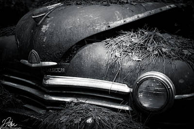 Wall Art - Photograph - Oldy Car City 2 Plymounth by James Fisher