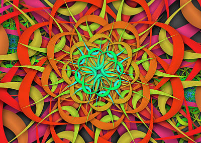 Digital Art - Olif Complex Remix by Vitaly Mishurovsky