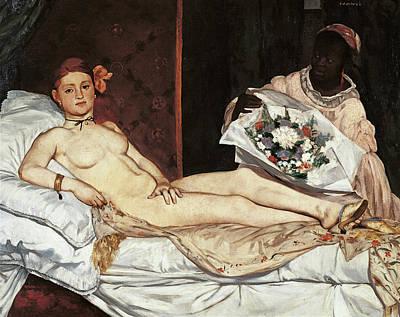 Naked Painting - Olympia, By Edouard Manet, 1863, 19th by Mondadori Portfolio