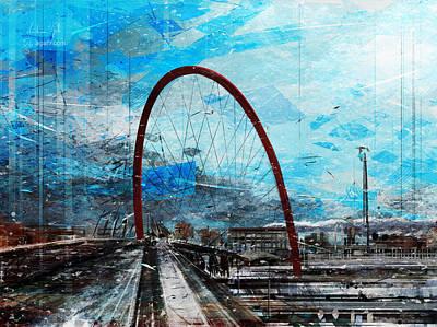 Surrealism Digital Art - Olympic Arch by Andrea Gatti