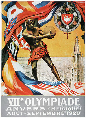 Photograph - Olympic Games, 1920 by Granger
