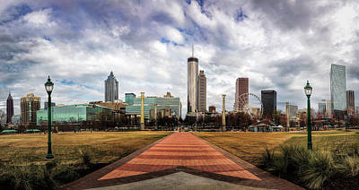 Photograph - Olympic Park Atlanta by Cyndy Doty