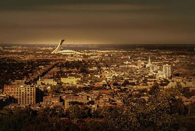Photograph - Olympic Stadium by Juan Contreras