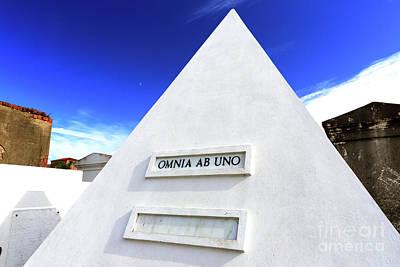 Photograph - Omnia Ab Uno New Oreans by John Rizzuto