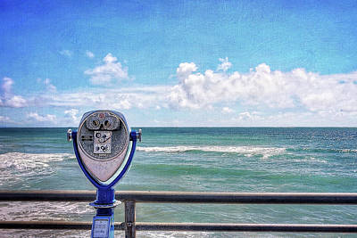 Pier Wall Art - Photograph - On A Clear Day You Can See Forever by Ann Patterson