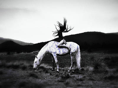 Photograph - On A Pale Horse by Susan Maxwell Schmidt
