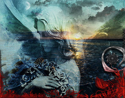 Digital Art - On A Wing And A Prayer by Michael Damiani