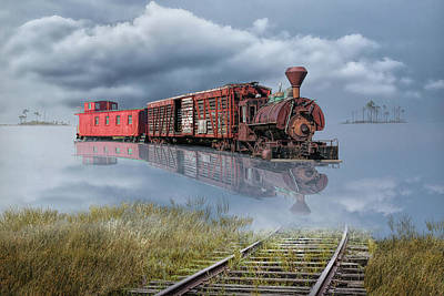 Photograph - On Life's Railway by Randall Nyhof