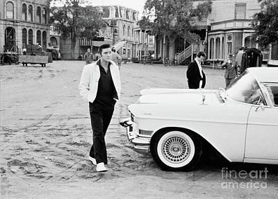 On Set With Elvis  Original