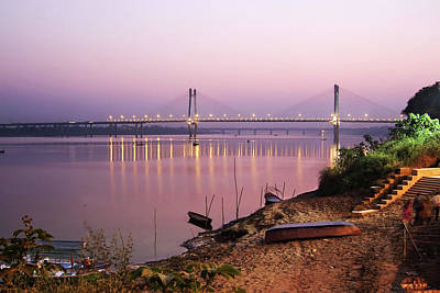Ganges Photograph - On The Banks Of Yamuna by © Abhijeet Vardhan