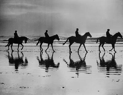 Photograph - On The Beach by Reg Speller