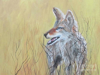 Painting - On The Hunt by Roseann Gilmore