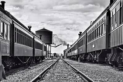 Photograph - On The Rail by DJ Florek